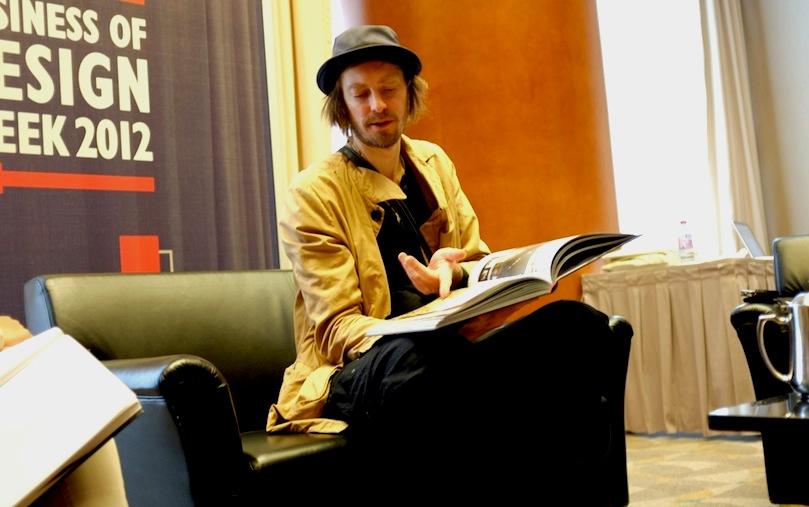 腦作大業 122 - 專訪設計營商周  丹麥著名時裝設計師 Henrik Vibskov